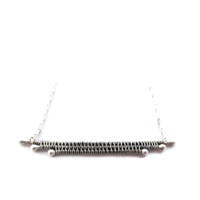 Sterling Woven Three as One Necklace