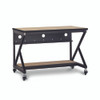 """48"""" 400 Series LAN Station / Workbench with 14"""" D Lower Shelf – Maple"""