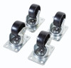 Casters for Data Cabinets