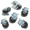 Performance One Casters for Corner Unit - Set of 6