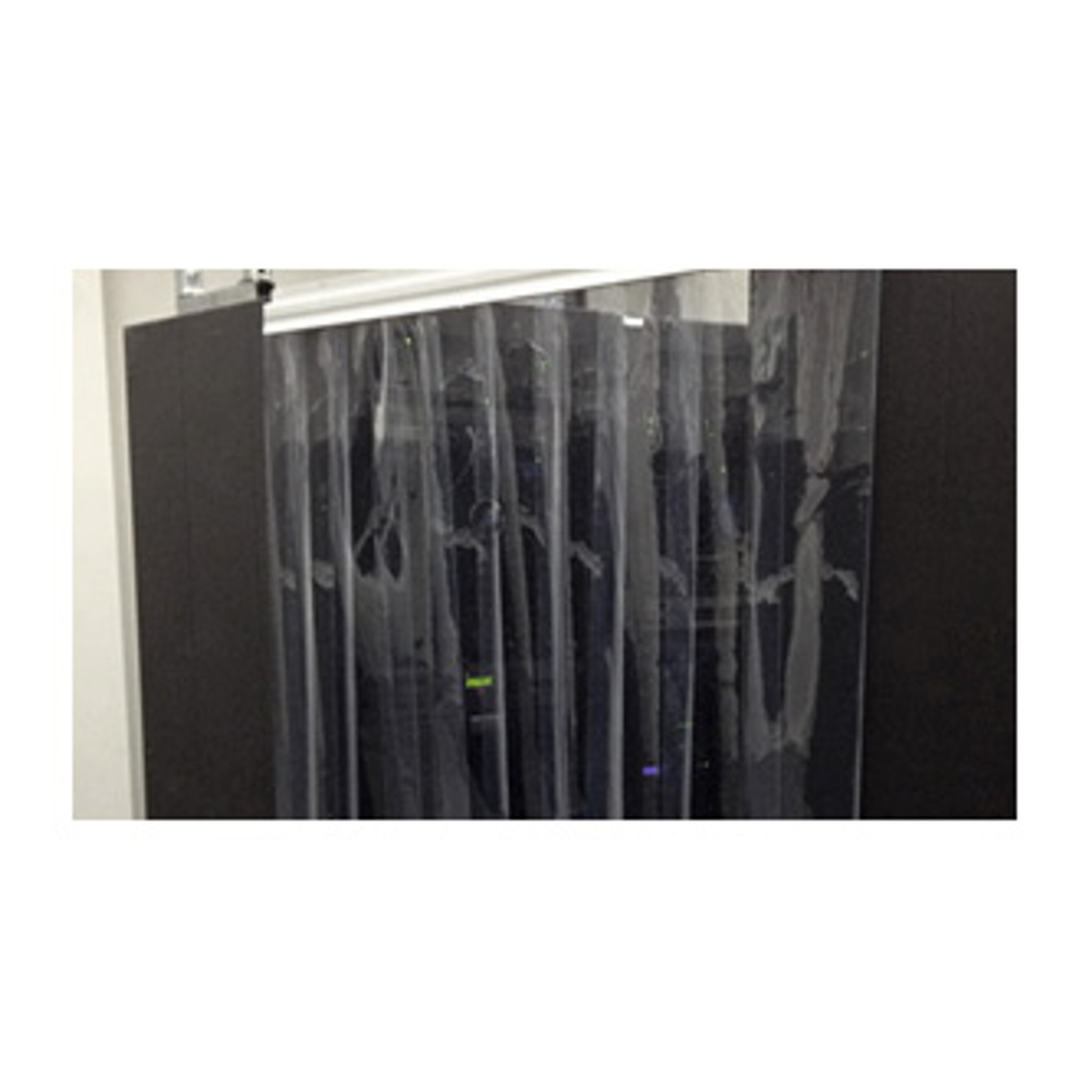 Data Center Air Management Rigid Vinyl Air Containment Curtains