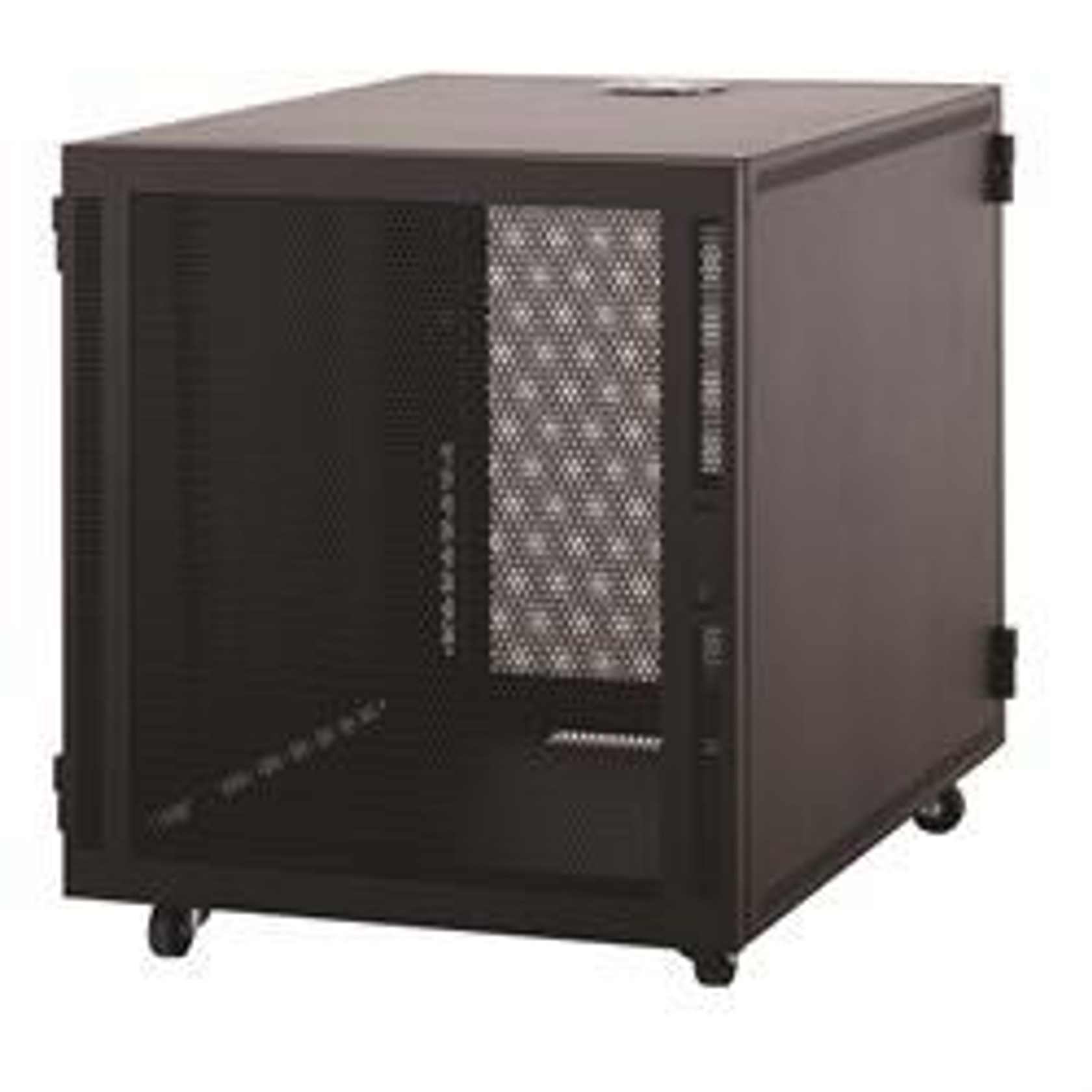12u Small Desk Top Server Rack Cabinet With Front And Rear Doors Gaw Technology