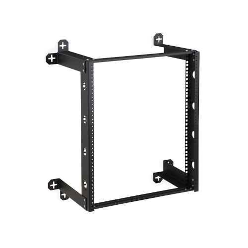 "12U V-Line Wall Mount Rack - 12"" Depth, Open frame"