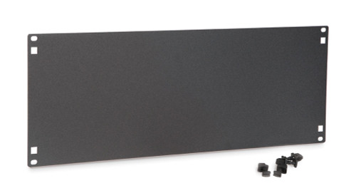 4U Flat Filler Panels / Spacer Blank with Tooless Mounting Clips