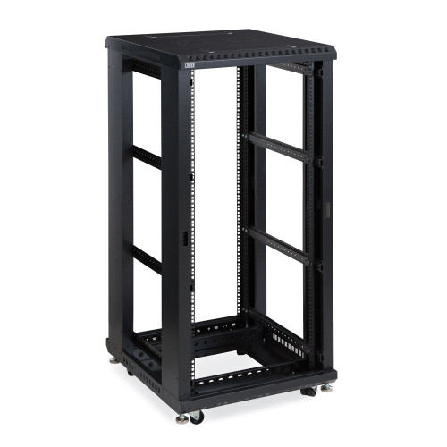 """27U LINIER Server Cabinet, Open Frame No Doors 24"""" Depth, 19"""" Rack Mount"""