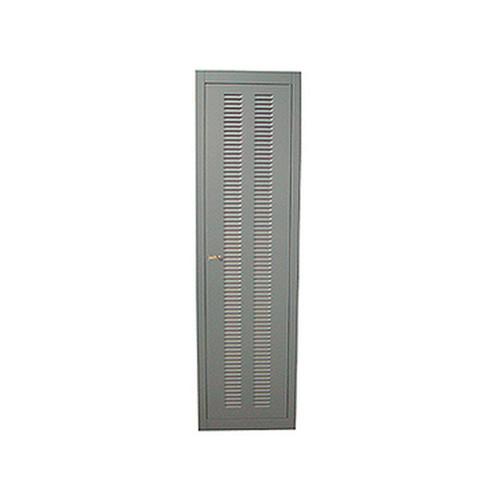 Louvered Server Cabinet Rear Door