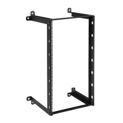 "21U V-Line Wall Mount Rack - 18"" Depth, Open frame"