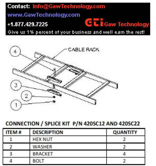 Straight Section Splice / Connection / Junction Kit