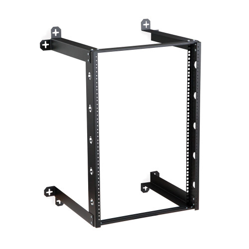 "16U V-Line Wall Mount Rack - 18"" Depth, Open frame"