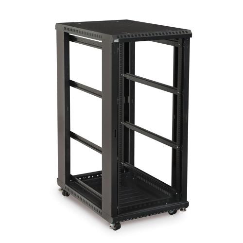 """27U LINIER Server Cabinet, Open Frame No Doors 36"""" Depth, 19"""" Rack Mount"""