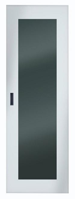 Server Cabinet Front Door with Steel Frame & Tempered Glass