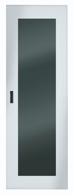 Server Cabinet Front Door with Steel Frame & Tempered Glass