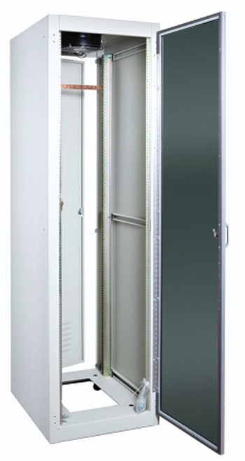 Server Cabinet Front Door, Aluminum Frame, Plexi-Glass