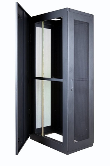 PICTURE SHOWN WITH 80% MESH DOORS, SOLID SIDE PANEL AND FAN