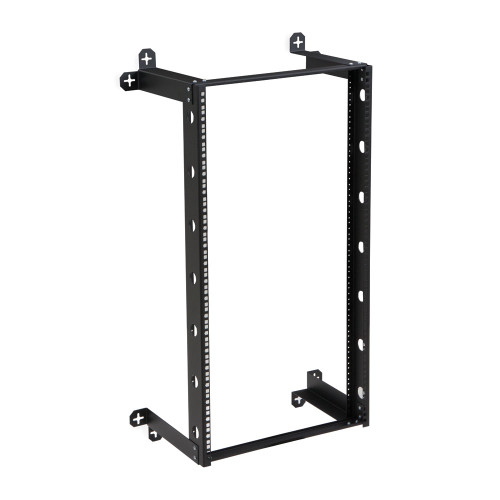 "21U V-Line Wall Mount Rack - 12"" Depth, Open frame"