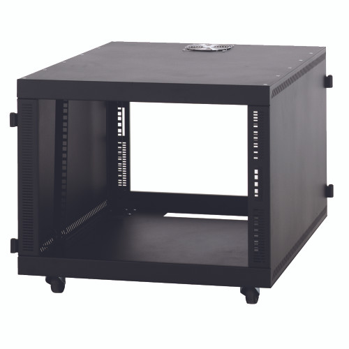 8U SOHO SMALL DESK TOP SERVER RACK CABINET - No Doors