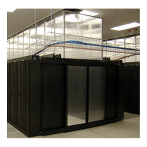 Rigid Data Center Air Containment Wall by the Linear Foot