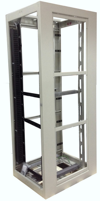 Zone 4 Seismic Constructed Server Rack Cabinet, Open Frame