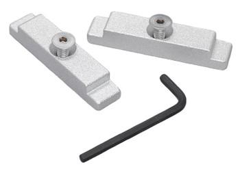 Traxstech's Aluminum Mounting Track Endcaps (#MTEC-2)