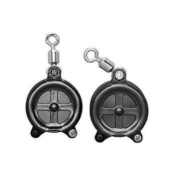 Pack of two pulleys