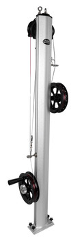 Traxstech Dual Reel Planer Board Mast with Lexan Reels (Part: #DPM-200)