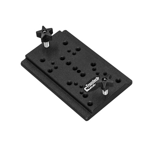 Traxstech Adapter Plate for RAM electronics ball mounts, Shakespeare VHF Antennas, and Anglers Pal rod holders