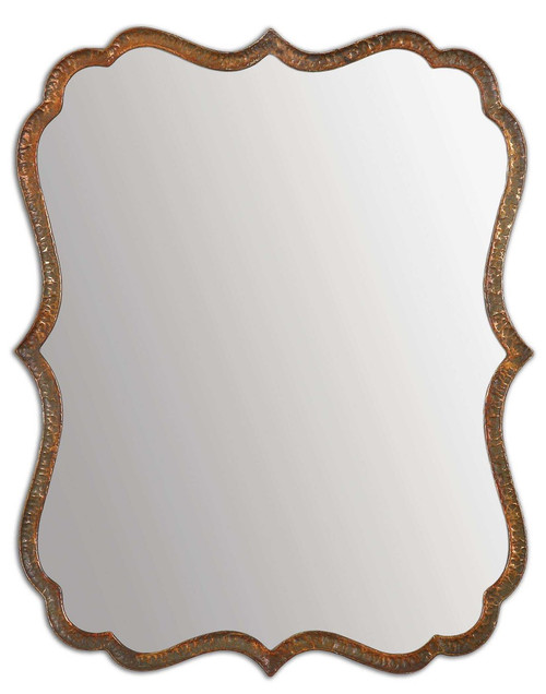 Spadola Copper Mirror