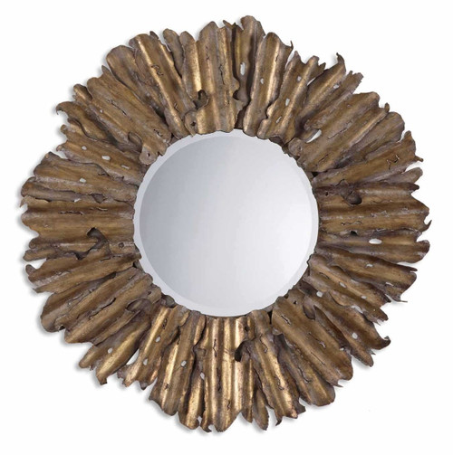 Hand Hammered Mirror