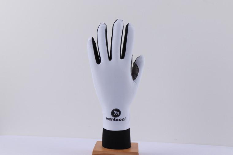 White Long Finger Gloves