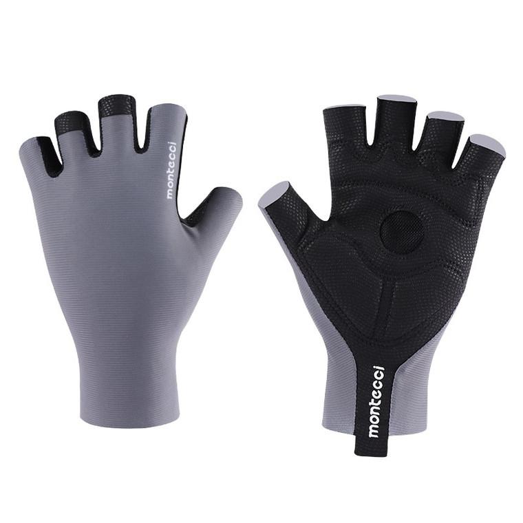 Grey   Short Finger Glove