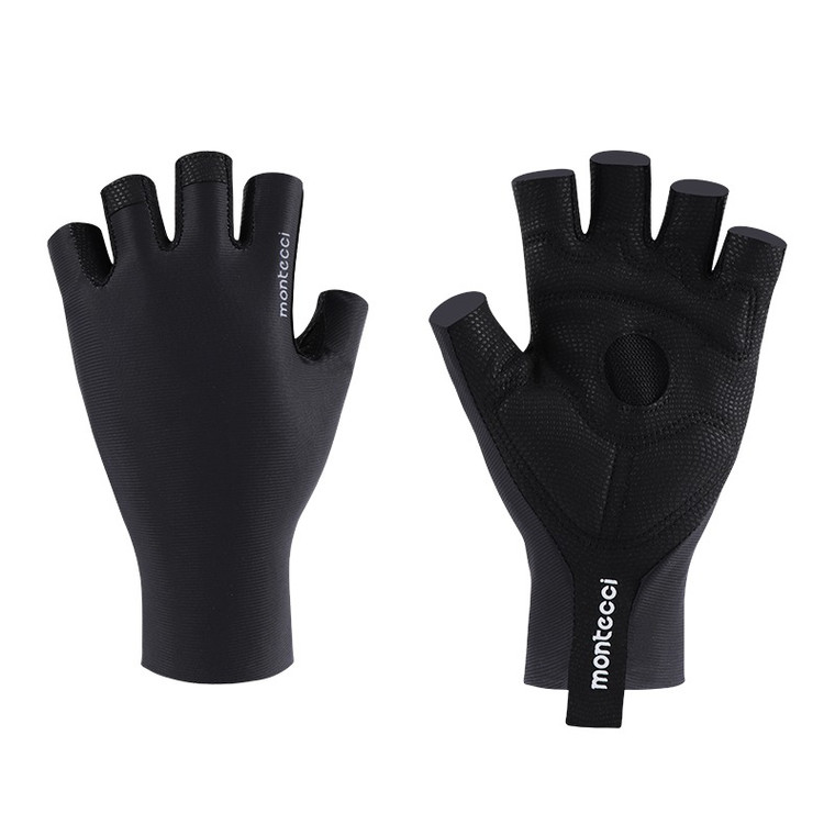 Black Short Finger Glove