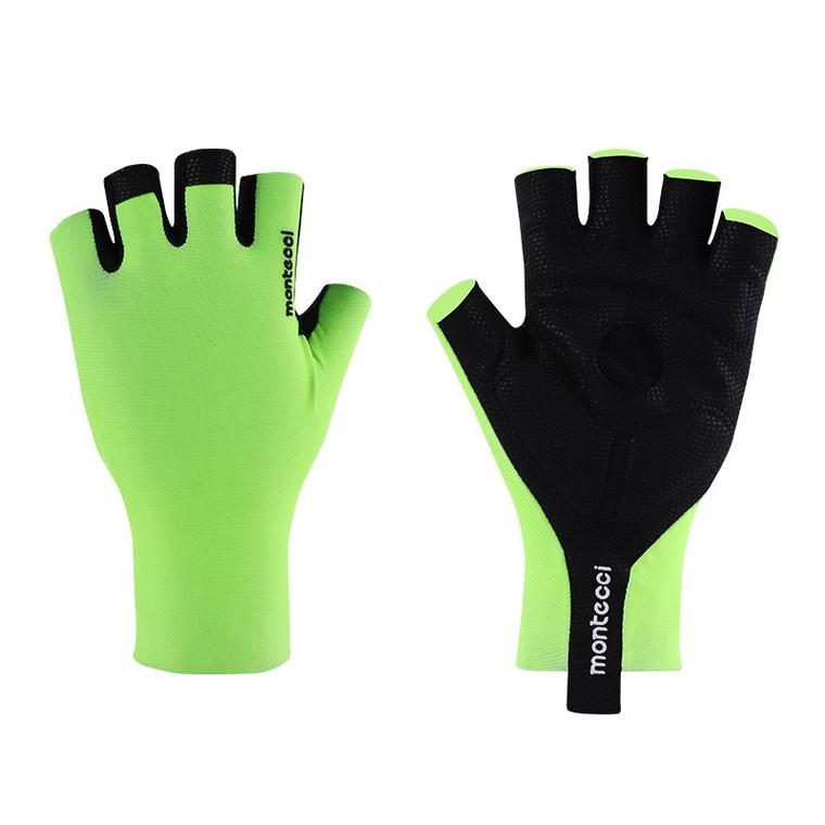 Flou Green Short Finger Glove