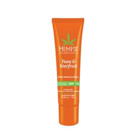 Hempz Daily Herbal Lip Balm with SPF 15 0.44 Oz. / 12 g