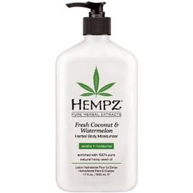 Hempz Fresh Coconut Watermelon Herbal Body Moisturizer 17 Oz.