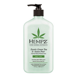 Hempz Exotic Green Tea & Asian Pear Herbal Moisturizer 17 Oz.