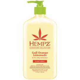 Hempz Goji Orange Lemonade Herbal Body Moisturizer 17 Oz.