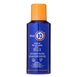 It's A 10 Miracle Dry Oil Spray plus Keratin With Argan Oil 5 Oz.