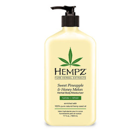 Hempz Sweet Pineapple & Honey Melon Herbal Body Moisturizer 17 Oz.