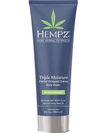 Hempz Triple Moisture Herbal Whipped Creme Body Wash 8.5 Oz.