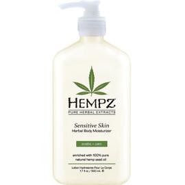 Hempz Sensitive Skin Herbal Body Moisturizer 17 Oz.