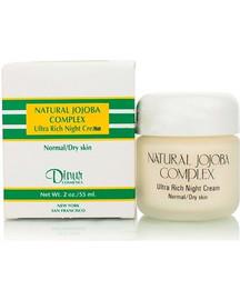 Dinur Natural Jojoba Complex Ultra Rich Night Cream 2 Oz.