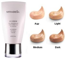 Mirabella CC Cream IV Dark Hydrating Oil Control