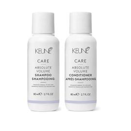 Keune Care Line Absolute volume Shampoo And Conditioner/ 2.7 Oz. (Travel Duo)