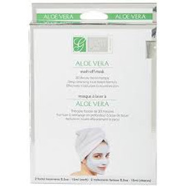 Global Beauty Care Premium Aloe Vera Wash-Off Mask (Set of 2 Facial Treatments)