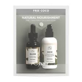 AG Hair AG Glow Shine Infuse Serum, Coco Natural