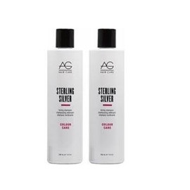 AG Hair Sterling Silver Shampoo, Conditioner 1 L. (DUO)
