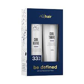 AG Hair Curl Revive Shampoo & Curl Thrive Conditioner  (DUO)