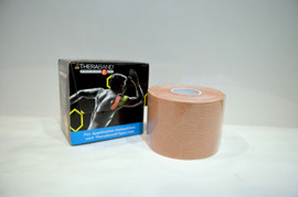 TheraBand Kinesiology Tape, Waterproof Physio Tape for Pain Relief, Muscle & Joint Support.
