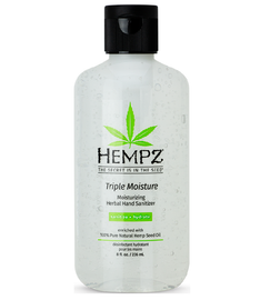 Hempz Triple Moisture Moisturizing Herbal Hand Sanitizer 8 Oz.