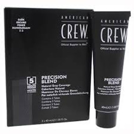 American Crew Men's Precision Blend Dark 3-Pack